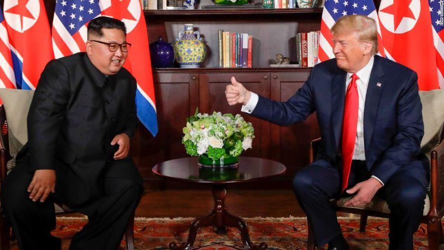 Kim Jong Un,Donald Trump,thượng đỉnh Mỹ - Hàn