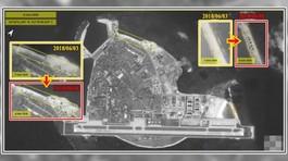 Trung Quốc tái bố trí các tên lửa phòng không trên đảo Phú Lâm