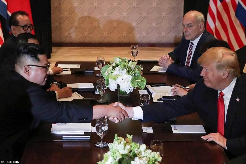 hội nghị thượng đỉnh Mỹ - Triều,Kim Jong Un,Donald Trump