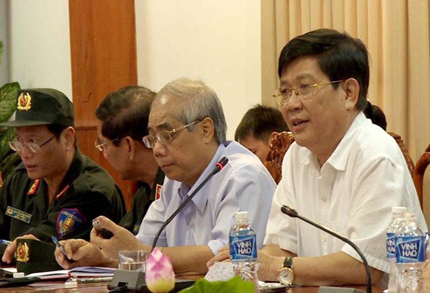 Xử nghiêm đối tượng cầm đầu gây rối tại trụ sở UBND tỉnh Bình Thuận