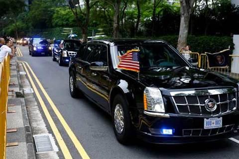 Ông Trump khoe Kim Jong Un chiếc xe