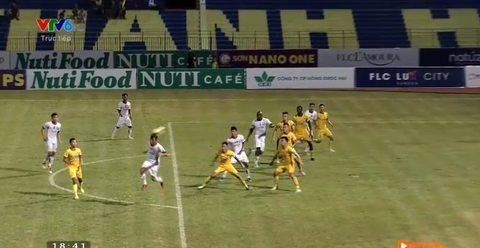 Thanh Hóa 1-0 Đà Nẵng: Đỗ Merlo ghi bàn bị từ chối