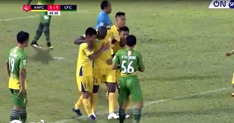 Khánh Hòa 2-1 Cần Thơ