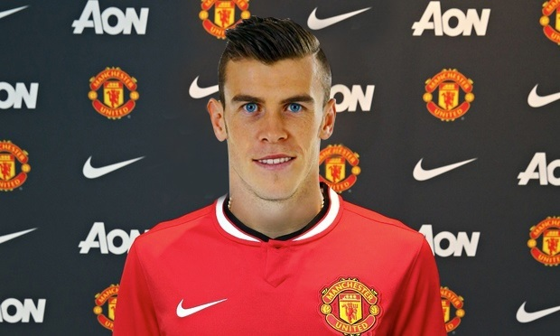 MU,Bale,Real Madrid,De Gea
