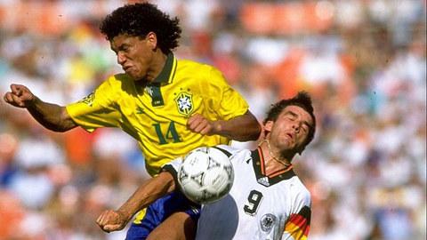Brazil 3-3 Đức 1993