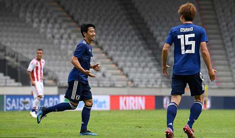 Video Nhật Bản 4-2 Paraguay