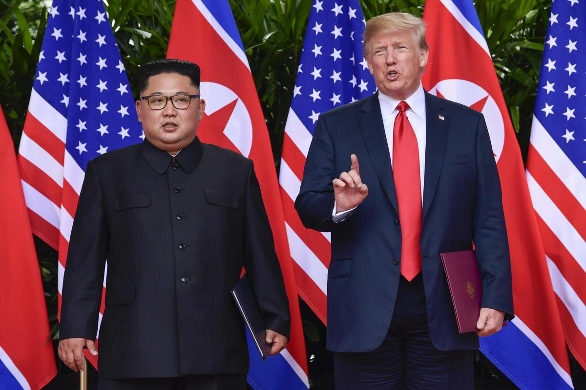 Thượng đỉnh Mỹ-Triều,quan hệ Mỹ-Triều,vẫn đề hạt nhân của Triều Tiên
