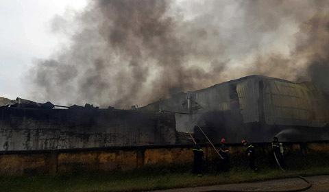 cháy nhà xưởng NoMuRa