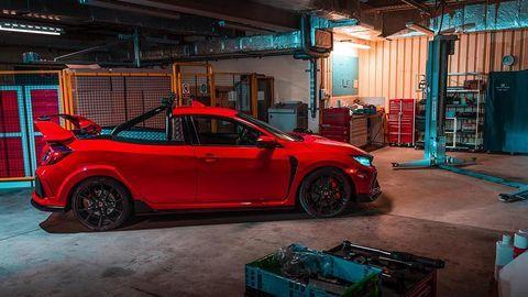 Độc đáo xe độ Honda Civic Type R như xe đua