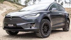 Xe độ offroad từ mẫu SUV điện Tesla Model X