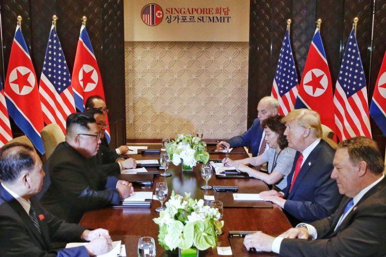 Donald Trump,Kim Jong Un,phiên dịch viên,thượng đỉnh Mỹ - Triều