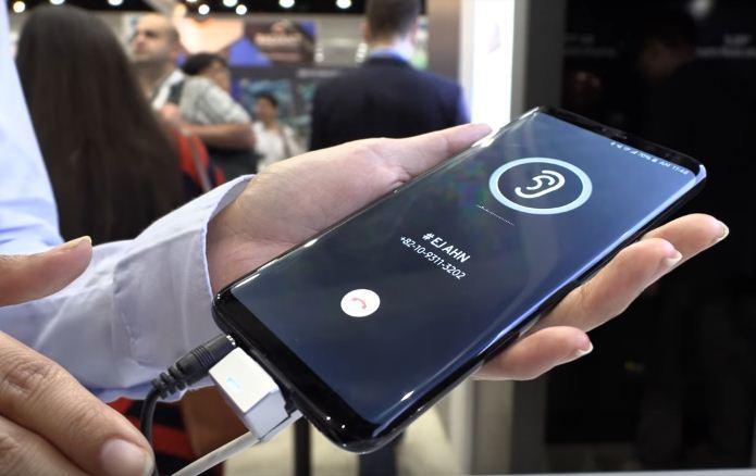 Samsung,Galaxy S10,Điện thoại Samsung,màn hình phát âm thanh