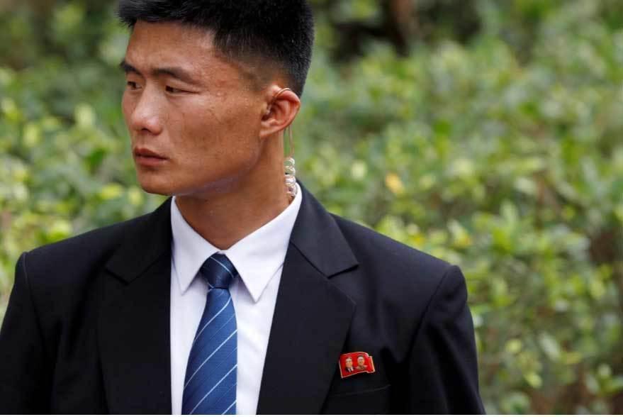 Phóng viên quốc tế,đeo bám,Kim Jong Un,Singapore,hội nghị thượng đỉnh Mỹ-Triều