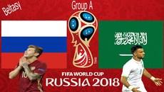 Xem trực tiếp trận Nga vs Saudi Arabia ở đâu?