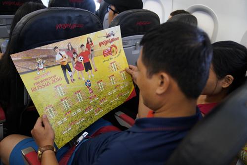 Rực rỡ sắc màu lịch thi đấu World Cup 2018 của Vietjet