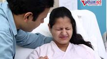 Cười ra nước mắt với ông chồng khờ đưa vợ đi đẻ