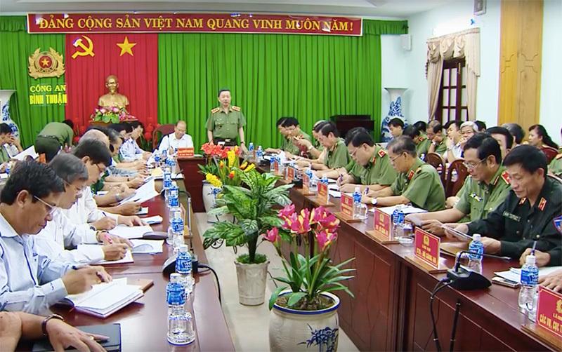 biểu tình,bạo động,Bình Thuận,luật đặc khu,đặc khu,Bộ trưởng Công an,Tô Lâm