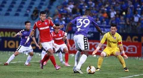 Hà Nội 3-1 Than Quảng Ninh: Samson ghi bàn