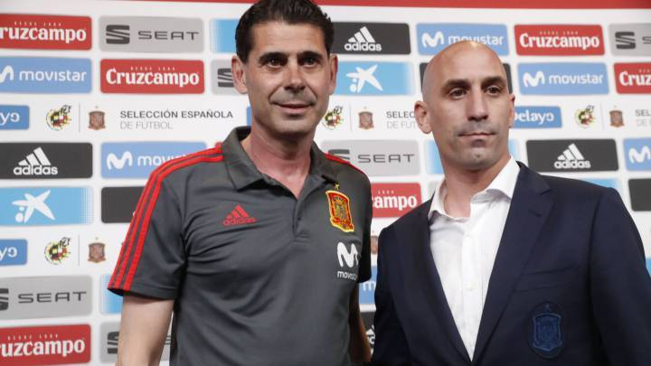Khai mạc World Cup 2018,Tây Ban Nha,Fernando Hierro,Julen Lopetegui,Real Madrid