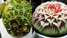 Những kiểu biến hình kì diệu của quả dưa hấu