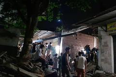 Hà Nội: Sập nhà đang xây, anh rể chủ nhà tử vong