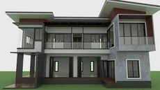 Các mẫu nhà đẹp 1-2 tầng thiết kế hiện đại