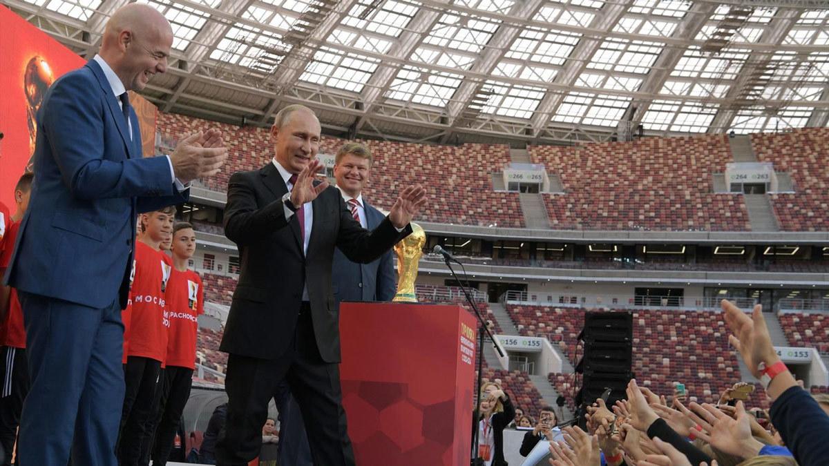 Nga,Khai mạc World Cup,Putin,Tổng thống Putin