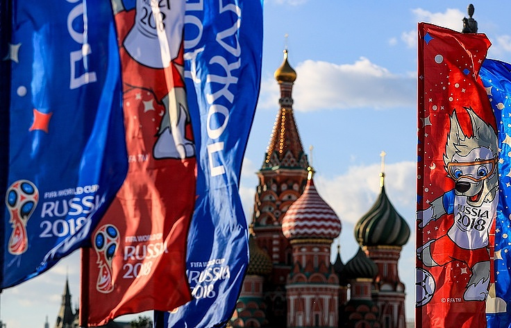 Rực rỡ Moscow trước lễ khai mạc World Cup 2018
