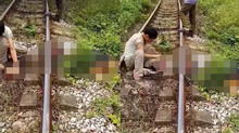 Thái Nguyên: Người đàn ông bị tàu hỏa cán lìa đầu