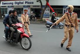 Những lỗi bị phạt nặng xe máy dễ mắc phải