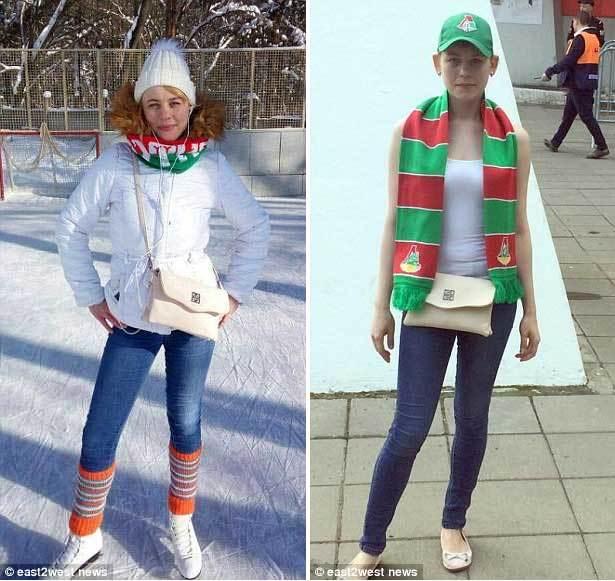Ngắm nữ cổ động viên Nga xinh đẹp nhưng khét tiếng quá khích