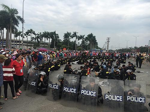 biểu tình,bạo loạn,luật đặc khu,Cần Thơ,tụ tập đông người,Bình Thuận