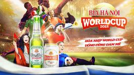 Danh sách địa điểm xem World Cup 2018 ở Hà Nội
