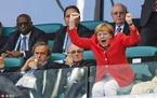 Xem cách các lãnh đạo thế giới cổ vũ bóng đá