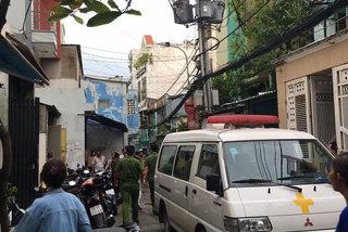 2 cha con nghi bị sát hại dã man ở Sài Gòn