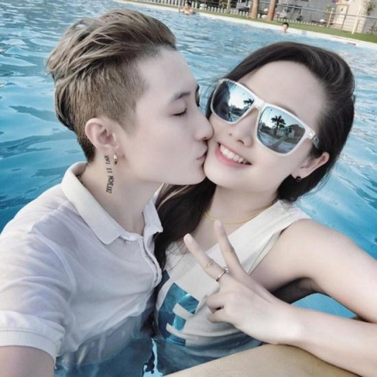 Ngọc Trang và Lin Jay khoe khoảnh khắc ngọt ngào khi còn yêu nhau.