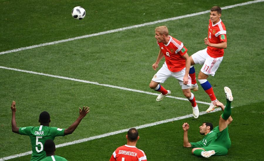 Bất ngờ với cầu thủ 'mở hàng' bàn thắng World Cup 2018