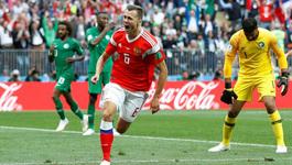 """Nga đại thắng """"5 sao"""" trận mở màn World Cup 2018"""