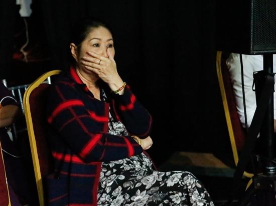 Sao Nối Ngôi - Kim Phương rơi nước mắt khi con trai hát về người chồng đã mất