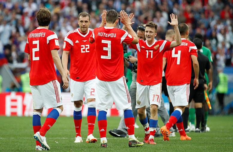 Nga đại thắng '5 sao' trận mở màn World Cup 2018