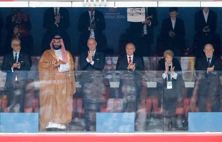 Tổng thống Putin chúc mừng tuyển Nga thắng khai mạc World Cup 2018