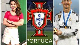 MC Vân Anh hâm mộ Ronaldo, đọ sắc với hot girl Tây Ban Nha