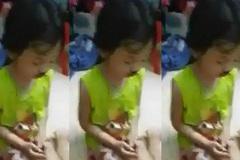 Phẫn nộ bà mẹ livetream đánh con gái chảy máu mũi