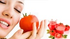 Cà chua thu nhỏ lỗ chân lông, trị mụn đầu đen