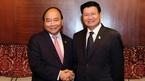 Thủ tướng Việt Nam, Lào gặp gỡ bên lề hội nghị ACMECS và CLMV
