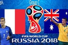Xem trực tiếp trận Pháp vs Úc ở đâu?