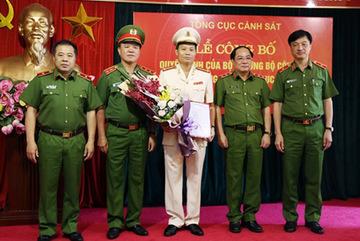 Bổ nhiệm Cục trưởng Cục Cảnh sát hình sự