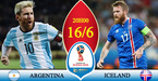 "Kèo ""sáng"" World Cup: Iceland có thể gây sốc Argentina"