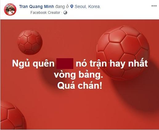 BTV Quang Minh tiếc vì lỡ trận xuất thần của Ronaldo tại World Cup 2018