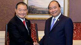 Thủ tướng tiếp Chủ tịch Tập đoàn ThaiBev